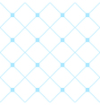 Light Blue Square Diamond Grid White Background vector image