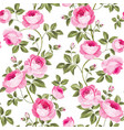 luxurious rose wallapaper vector image vector image