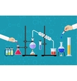 Medical Laboratory Desktop vector image vector image