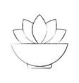 Natural flower spa icon