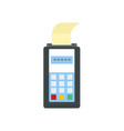 payment by credit card icon flat style vector image vector image