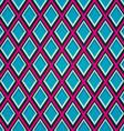 blue mosaic seamless pattern vector image