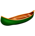 Canoe vector image vector image