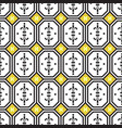ceramic tiles mediterranean seamless pattern vector image vector image