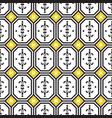 ceramic tiles mediterranean seamless pattern vector image vector image
