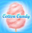 cotton candy background candyfloss kids sugar vector image vector image
