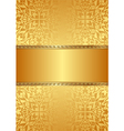 golden background with baroque ornaments