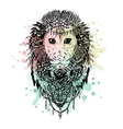 Graphic monkey abstract design vector image vector image