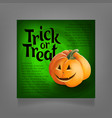 halloween party design template vector image