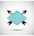 label icon design vector image