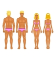 male female boy set collection vector image vector image