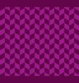 purple herringbone check pattern vector image vector image