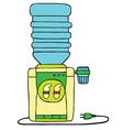 Water dispenser vector image vector image