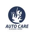 automotive car care repair grage logo design