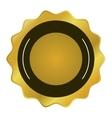 Round badge icon