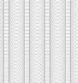 Slim gray hatched wavy columns vector image