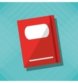 book icon design vector image vector image