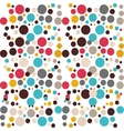 colored pattern circles ideal vector image vector image