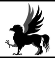 hippogriff vector image vector image