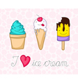 icecream vector image vector image