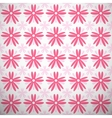 Light summer pattern tiling Fond pink and white vector image vector image