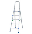 Step ladder vector image