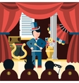 Theatre play concept vector image vector image