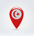 Tunisian icon point for map