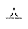 western tequila vector image