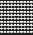 black and white scales background vector image vector image