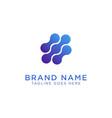 blob logo design vector image vector image