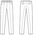Business pants vector image vector image