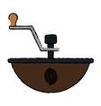 Coffee grinder machine icon