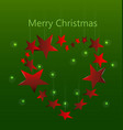 festive christmas background card template vector image vector image