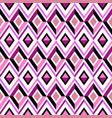 pink diamond pattern vector image vector image
