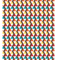 Seamless bright geometric abstract pattern vector image vector image