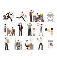 time limited people set vector image vector image