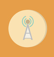 Tower wi-fi vector image