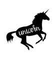 Unicorn mythical horse