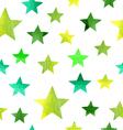 watercolor stars pattern vector image