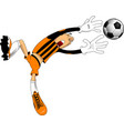 magnificent goal vector image