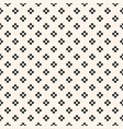 abstract floral seamless pattern black and white vector image vector image