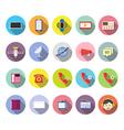 Communication Icon Flat Design vector image