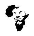 lion king logo vector image vector image