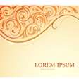 Orient style card vector image