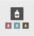 soap icon simple barbershop vector image vector image