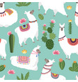 textile fabric seamless patterns vector image