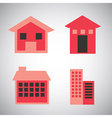 buildings design vector image