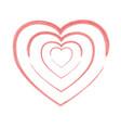 crayon valentine 12 00000 vector image vector image