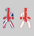england exit from united kingdom vector image